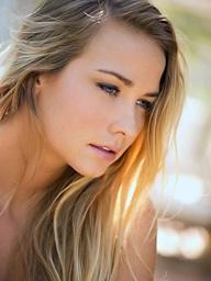 Courtney Dillon sprawls out - Digital Desire